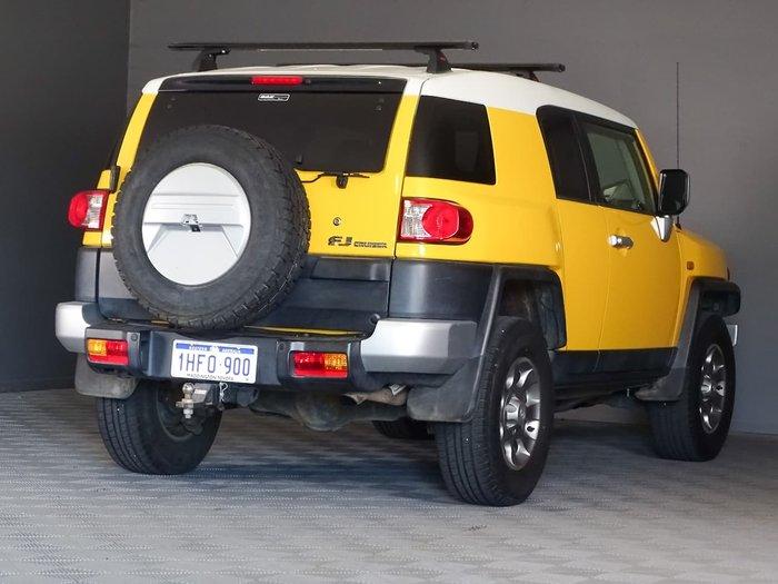 2012 Toyota FJ Cruiser GSJ15R 4X4 Dual Range Yellow