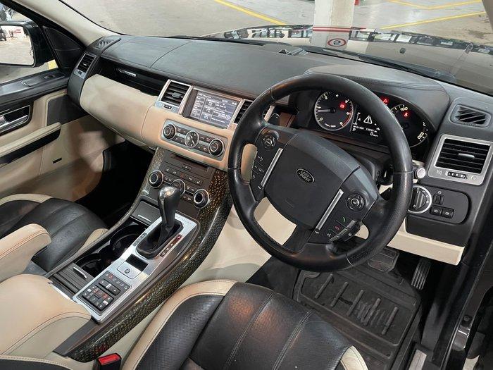 2012 Land Rover Range Rover Sport SDV6 Autobiography L320 MY12 4X4 Dual Range Santorini Black