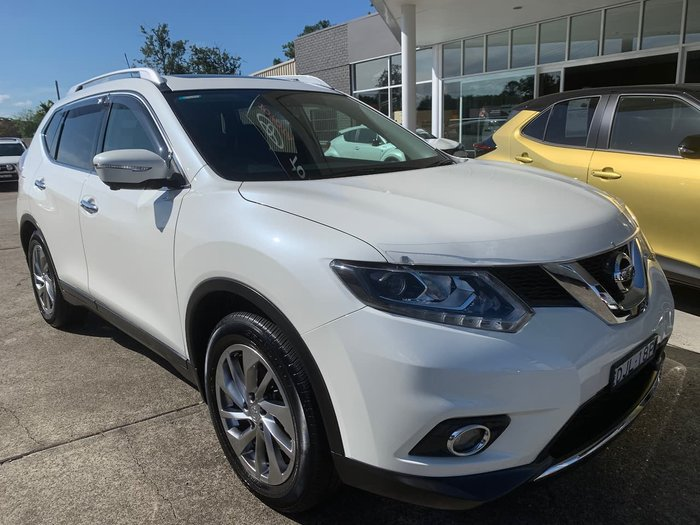 2017 Nissan X-TRAIL Ti T32 Series II 4X4 On Demand White