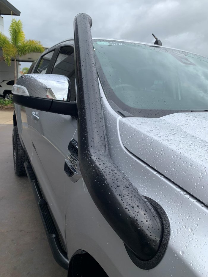 2017 Ford Ranger XLT PX MkII MY18 4X4 Dual Range Ingot Silver