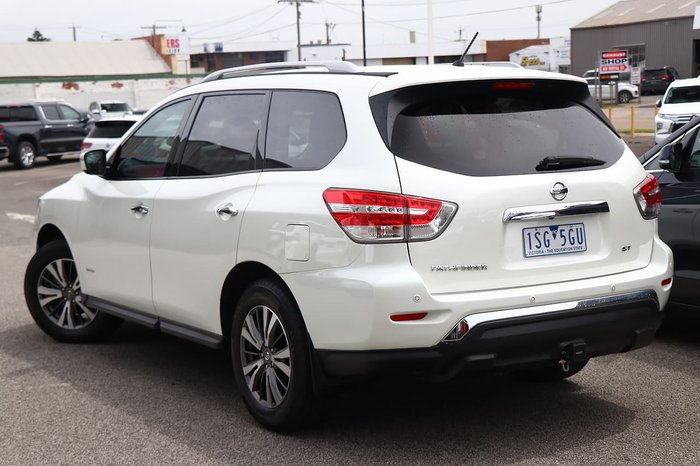 2018 Nissan Pathfinder ST R52 Series II MY17 White