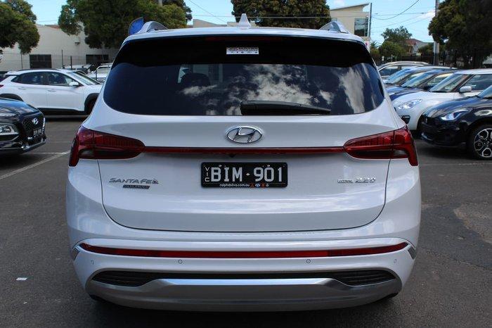 2020 Hyundai Santa Fe Highlander TM.V3 MY21 4X4 On Demand White