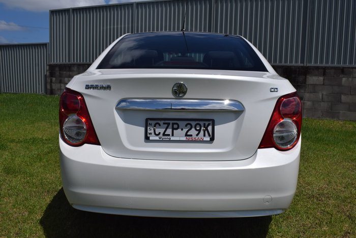 2014 Holden Barina CD TM MY14 White