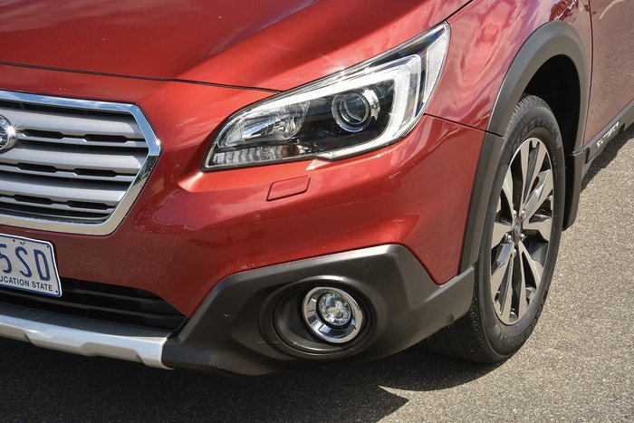 2016 Subaru Outback 2.5i Premium 5GEN MY16 Four Wheel Drive Red