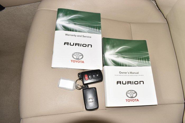 2013 Toyota Aurion Prodigy GSV50R Magnetic Bronze