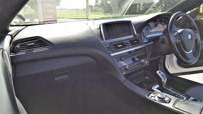 2012 BMW 6 Series 650i F12 MY12 Alpine White