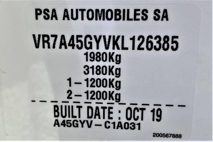 2019 Citroen C5 Aircross Shine C84 MY20 Pearl White