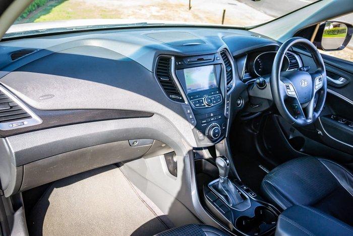 2013 Hyundai Santa Fe Elite DM MY14 4X4 On Demand White
