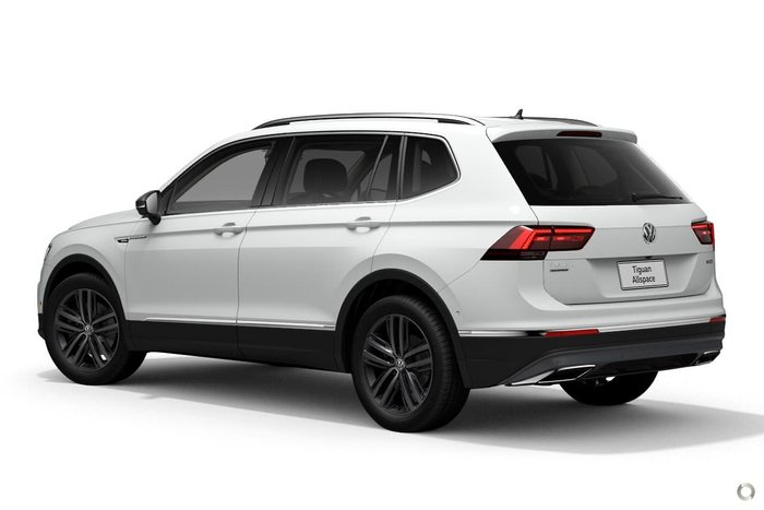 2020 Volkswagen Tiguan 162TSI Highline Allspace 5N MY21 Four Wheel Drive White