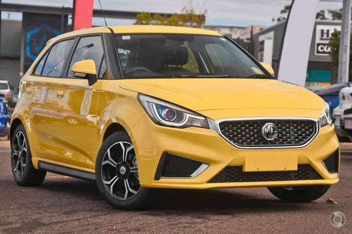 2020 MG MG3 Excite MY21 Tudor Yellow