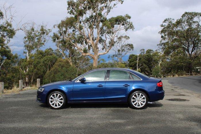 2014 Audi A4 B8 MY14 Four Wheel Drive Blue