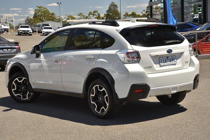 2016 Subaru XV 2.0i-S G4X MY17 Four Wheel Drive White