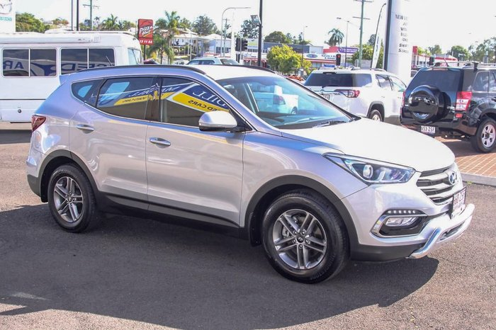 2015 Hyundai Santa Fe Active DM2 MY15 4X4 On Demand Silver