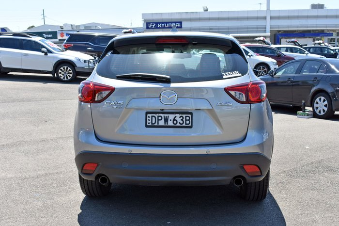 2013 Mazda CX-5 Grand Touring KE Series MY13 Four Wheel Drive Aluminium