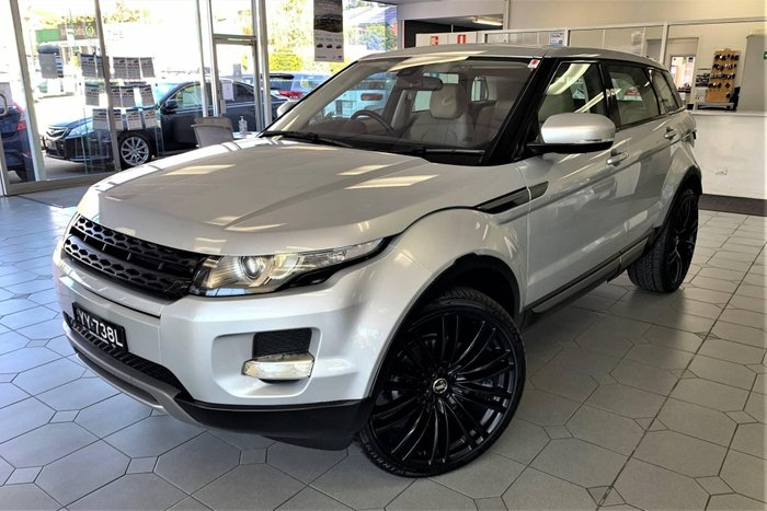 2012 Land Rover Range Rover Evoque TD4 Pure L538 MY12 4X4 Constant Indus Silver