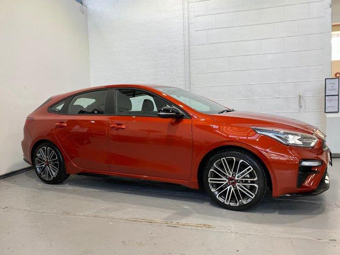 2019 Kia Cerato GT BD MY19 Orange