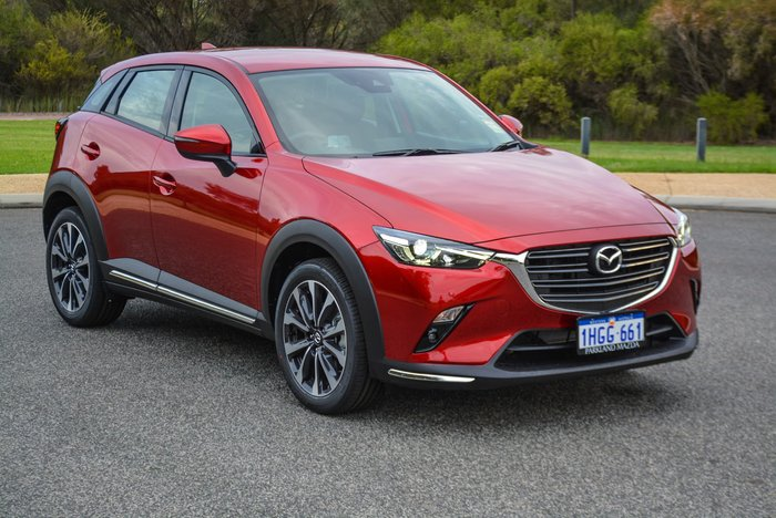 2020 Mazda CX-3 sTouring DK AWD Soul Red Crystal
