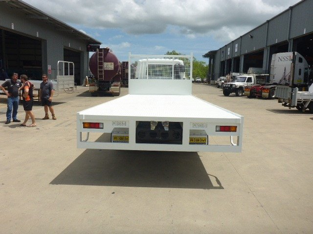 2020 Fuso FK 4x2 1024 with Steel 6.5m Tray White