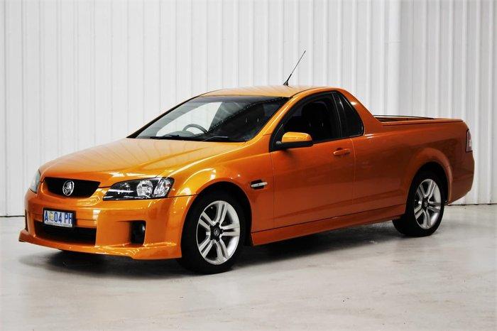 2008 Holden Ute SV6 VE Orange