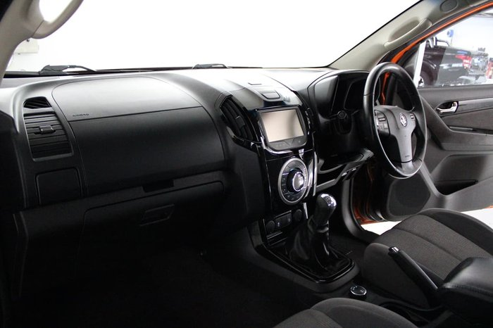 2015 Holden Colorado LTZ RG MY15 4X4 Dual Range Orange