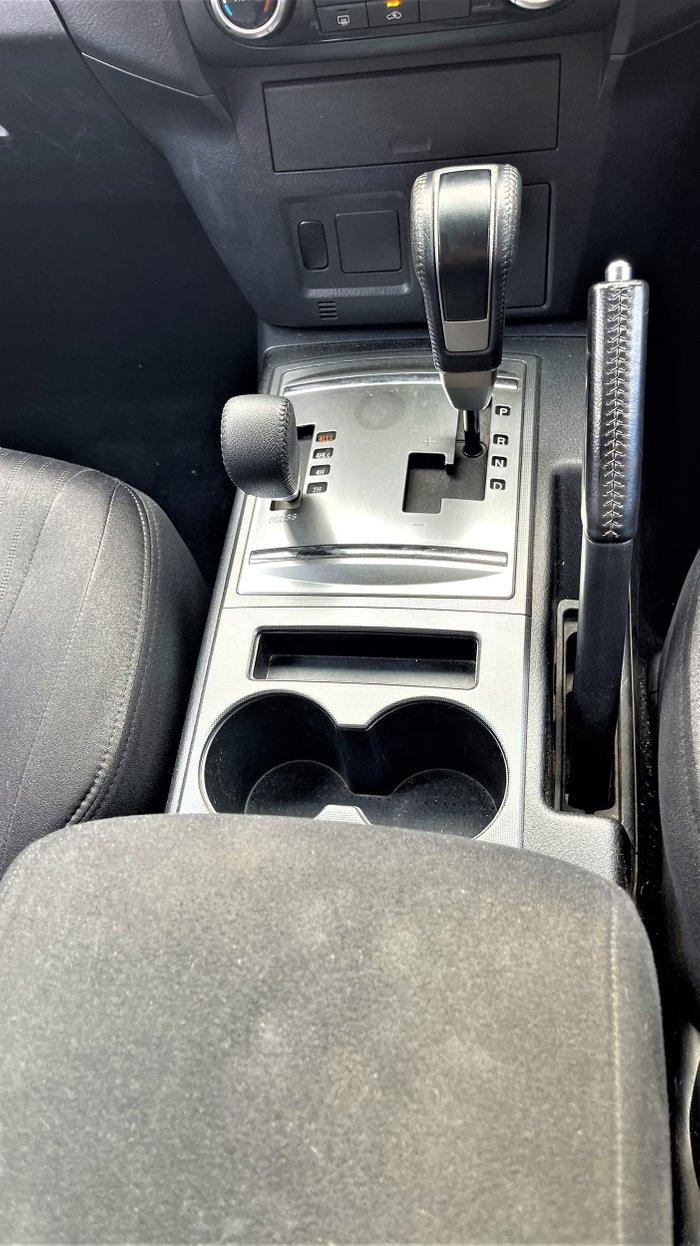 2012 Mitsubishi Pajero GLX NW MY12 4X4 White