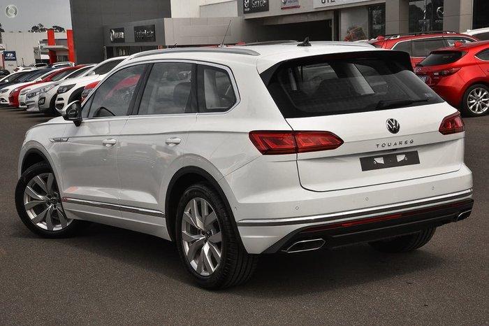 2020 Volkswagen Touareg 210TDI Elegance CR MY21 Four Wheel Drive White