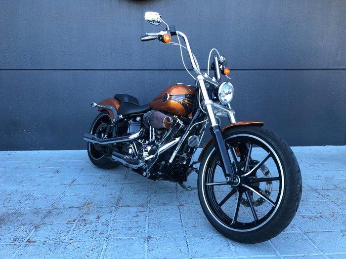 2014 Harley-davidson FXSB SOFTAIL BREAKOUT Orange