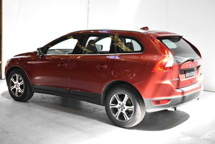 2012 Volvo XC60 D5 Teknik MY12 Four Wheel Drive Flamenco Red
