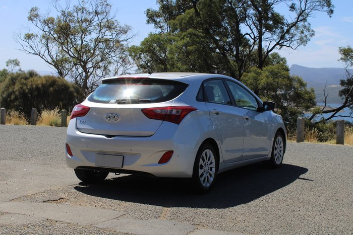 2016 Hyundai i30 Active GD4 Series II MY17 Silver