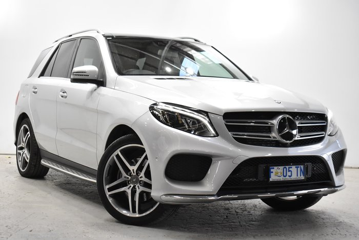 2017 Mercedes-Benz GLE-Class GLE350 d W166 Four Wheel Drive Iridium Silver