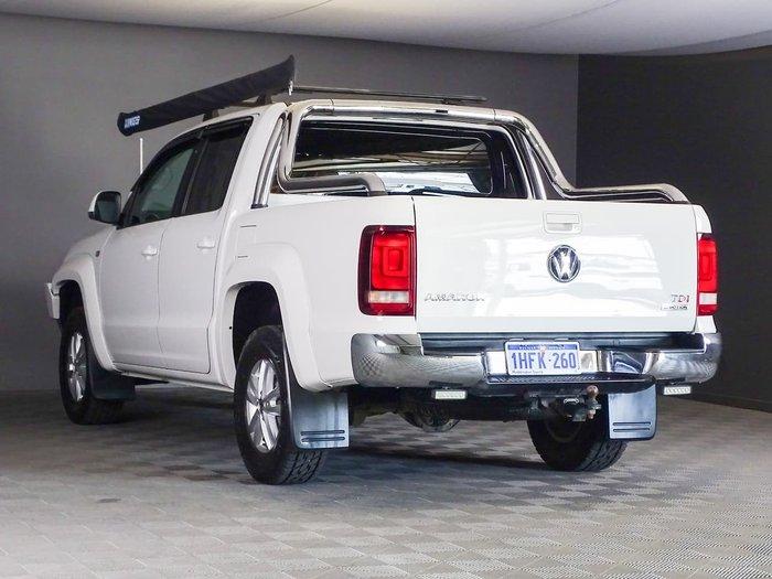 2012 Volkswagen Amarok TDI400 Highline 2H MY12 4X4 Dual Range White