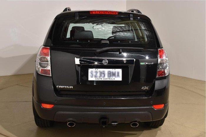 2012 Holden Captiva 7 CX CG Series II MY12 4X4 On Demand Carbon Flash