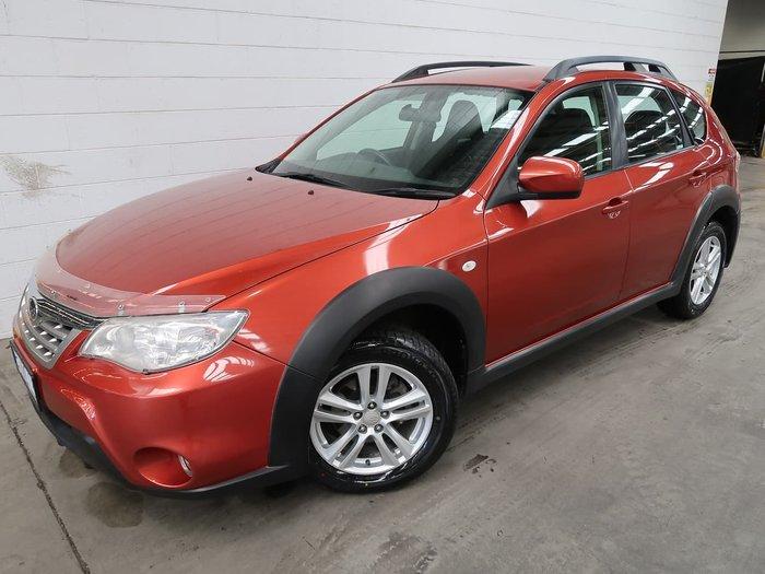 2010 Subaru Impreza XV G3 MY11 Four Wheel Drive Red