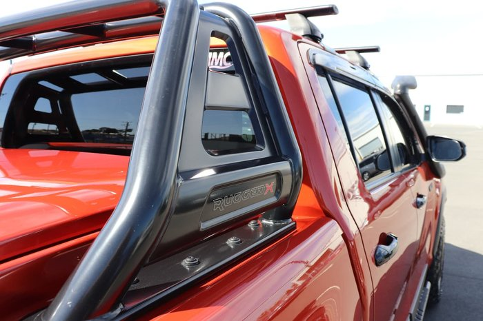 2018 Toyota Hilux Rugged X GUN126R 4X4 Dual Range Orange