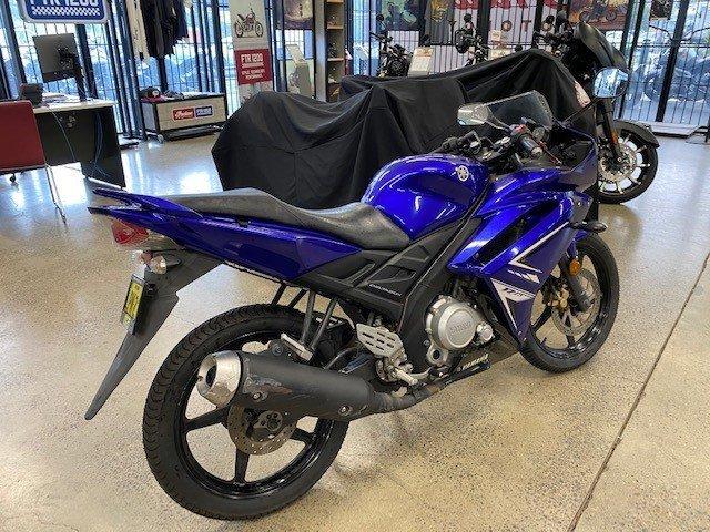 2011 Yamaha YZF-R15 Blue