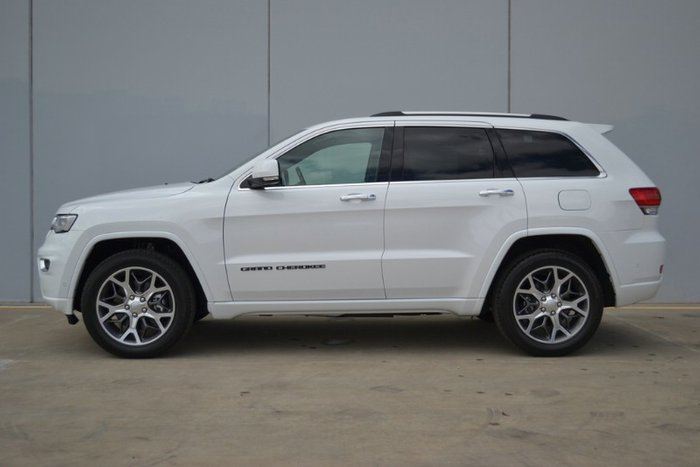 2020 Jeep Grand Cherokee Overland WK MY20 4X4 Dual Range BRIGHT WHITE