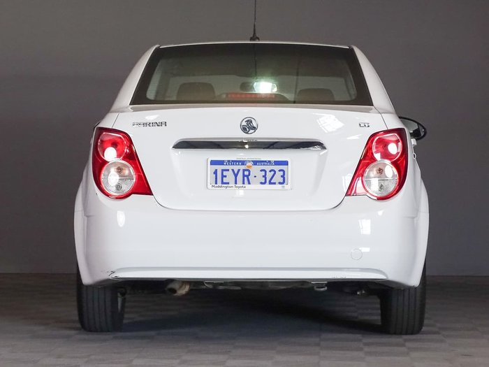 2016 Holden Barina CD TM MY16 White