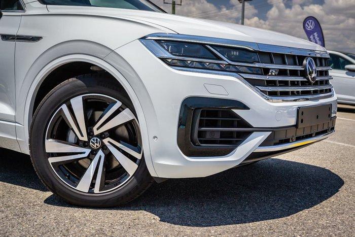 2020 Volkswagen Touareg 210TDI R-Line CR MY21 Four Wheel Drive White
