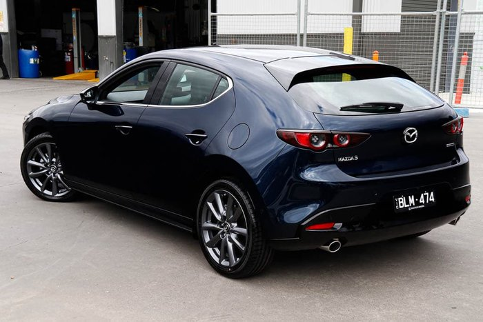 2020 Mazda 3 G20 Touring BP Series Deep Crystal Blue