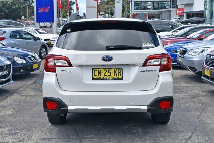 2017 Subaru Outback 2.0D Premium 5GEN MY17 Four Wheel Drive Crystal White