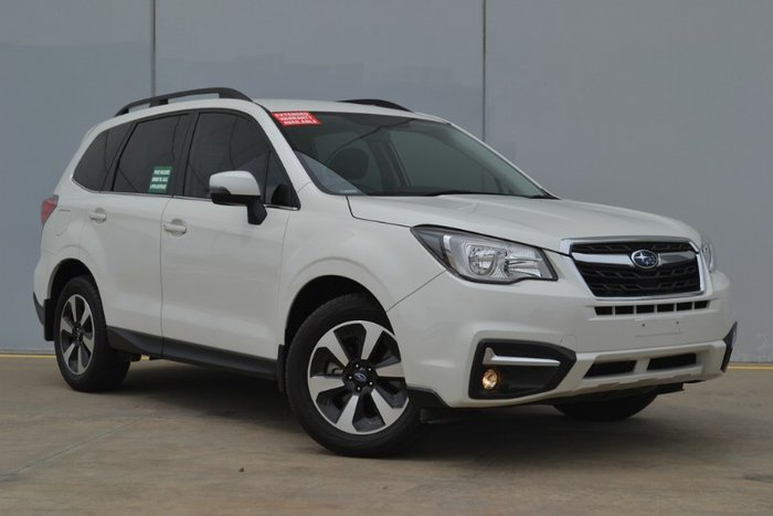 2017 Subaru Forester 2.0D-L S4 MY18 Four Wheel Drive CRYSTAL WHITE PEARL