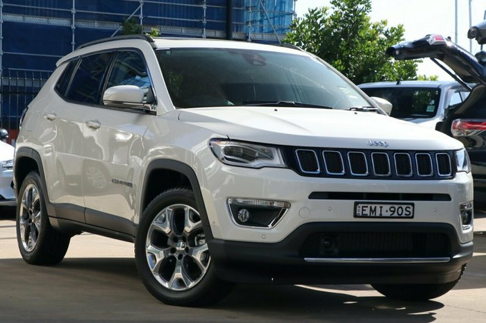 2020 Jeep Compass Limited M6 MY20 4X4 On Demand Vocal White