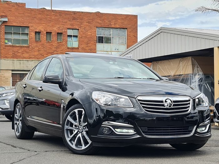 2016 Holden Calais V VF Series II MY16 Black