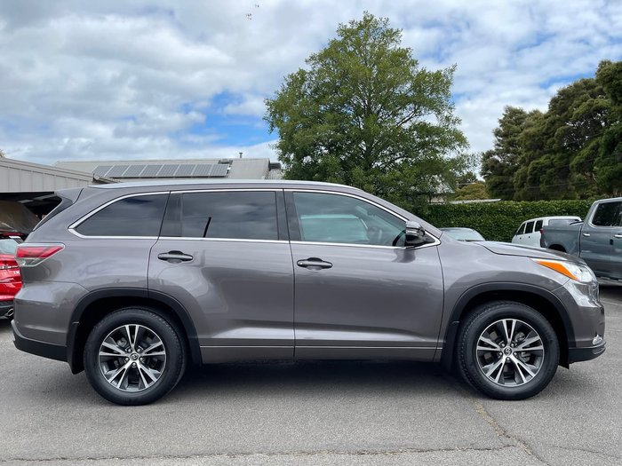 2016 Toyota Kluger GXL GSU55R Four Wheel Drive Grey