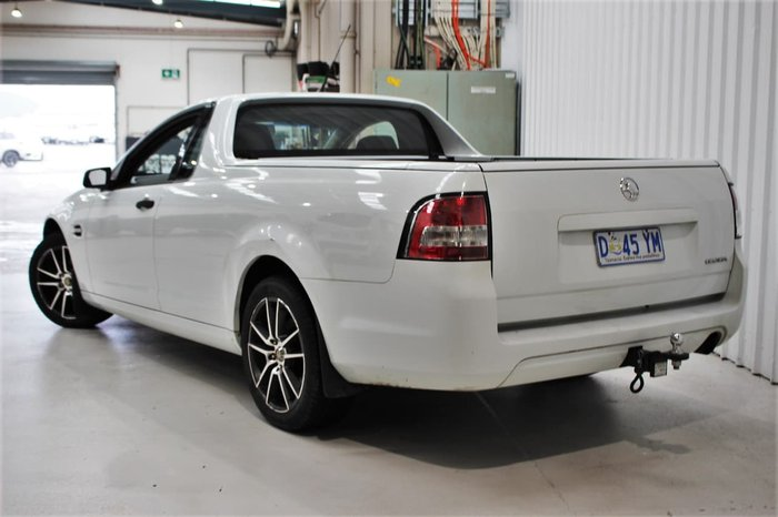 2008 Holden Ute Omega VE White