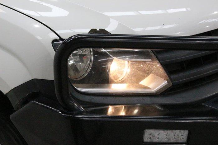 2011 Volkswagen Amarok TDI400 2H MY12 4X4 Dual Range White