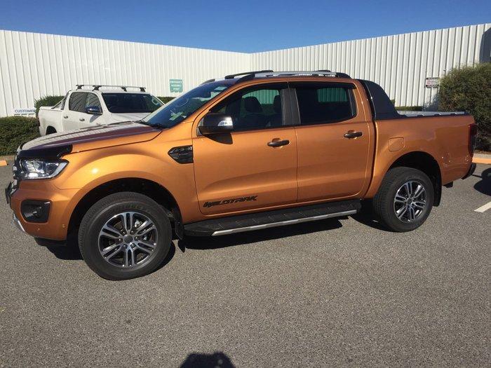 2020 Ford Ranger Wildtrak PX MkIII MY21.25 4X4 Dual Range Orange