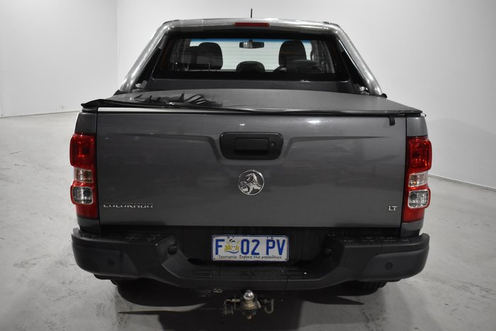 2016 Holden Colorado LT RG MY16 4X4 Dual Range Satin Steel Grey