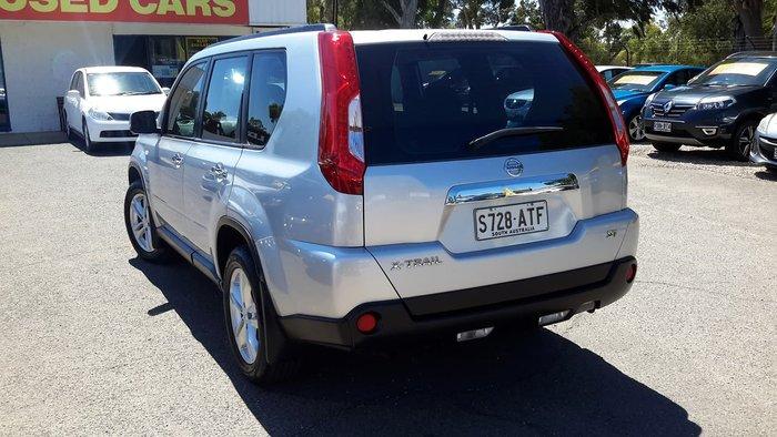 2012 Nissan X-TRAIL ST T31 Series IV Silver