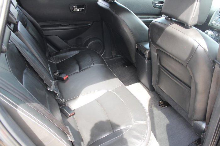 2012 Nissan Dualis Ti-L J10 Series 3 MY12 Pearl Black